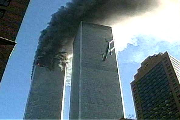 South Tower World Trade Center New York City September 11, 2001 at 9:03 am https://i.ytimg.com/vi/xOTgaO-BUGg/hqdefault.jpg