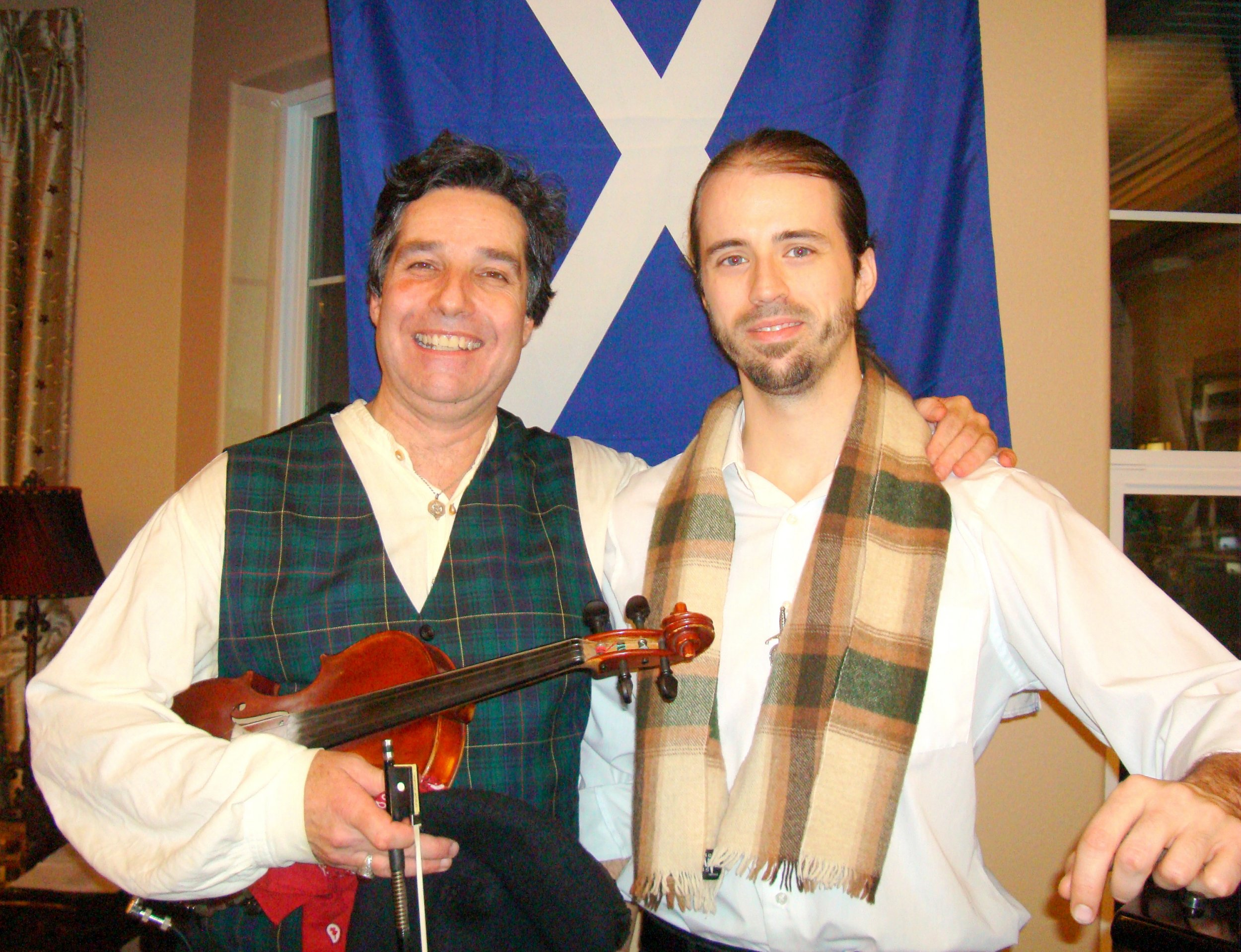 Tom Hamilton (Violinist and Singer) and Derek Giberson (Pianist) fantastic entertainers