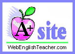 WebEnglishTeacher A+ Resource Award