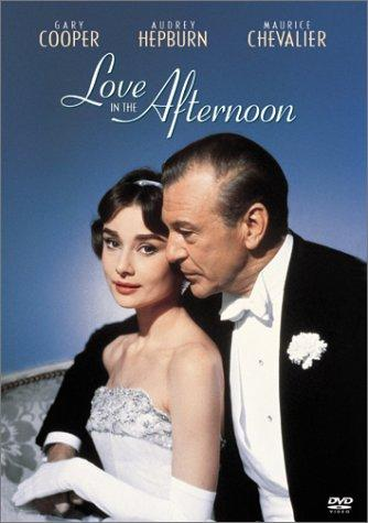 Love in the Afternoon (1957) Movie Poster Google image from https://s-media-cache-ak0.pinimg.com/originals/de/64/6c/de646c0e27b5dd5e52240d6c34721442.jpg