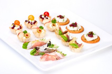 Appetizer Google image from http://www.painlesscooking.com/images/appetizers-tray.jpg