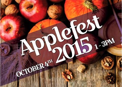 Applefest Open House Oct. 4, 2015 at Erinview image from Erinview Email 30Sep15