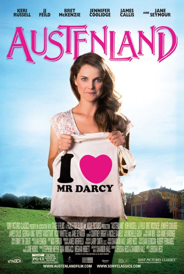 Austenland (2013) Movie Poster Google image from http://www.impawards.com/2013/posters/austenland_xlg.jpg