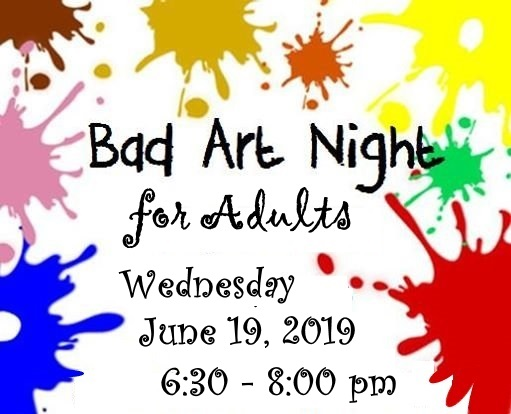 Bad Art Night adapted from Google image https://allevents.in/berwick/bad-art-night/717615338437321