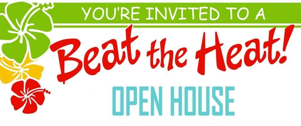 Beat the Heat Open House Google image adapted from http://tooeletoday.com/wordpress/wp-content/uploads/2015/07/open.jpg