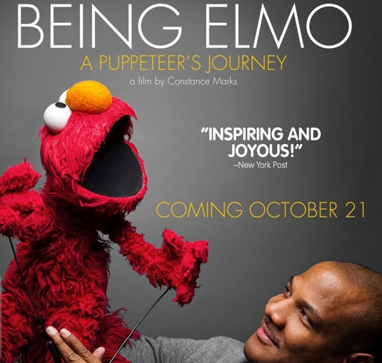 Being Elmo: A Puppeteer's Journey (2011) Google image from http://www.mediamonstrous.com/wp-content/uploads/2012/06/Being-Elmo-poster.jpg
