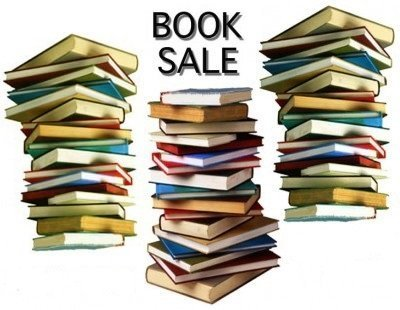 Book Sale Google image from http://apache.ocad.ca/events_calendar/images/upload/0004809.jpg