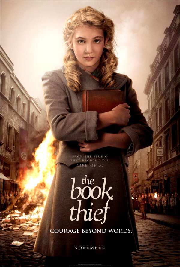 The Book Thief Movie Poster Google image from http://collider.com/wp-content/uploads/the-book-thief-poster.jpg