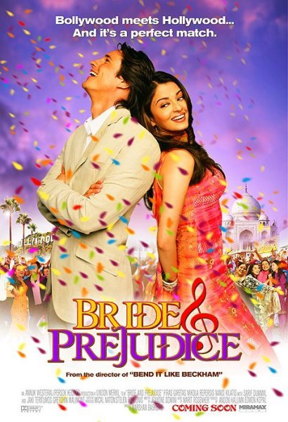 Bride and Prejudice (2004) Movie Poster Google image from http://upload.wikimedia.org/wikipedia/en/b/b2/Bride-and-prejudice.jpeg