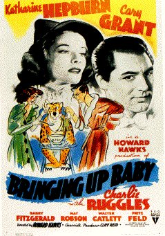 Bringing Up Baby (1938) Movie Poster Google image from http://www.filmsite.org/posters/brin2.gif