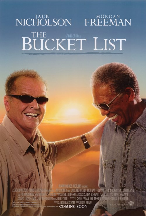 The Bucket List Movie Poster Google image from http://www.moviepostershop.com/the-bucket-list-movie-poster-2007