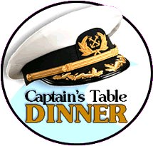 Captain's Table Dinner Google image from http://www.royalpalmmarina.com/Images/captains-table-dinner.gif
