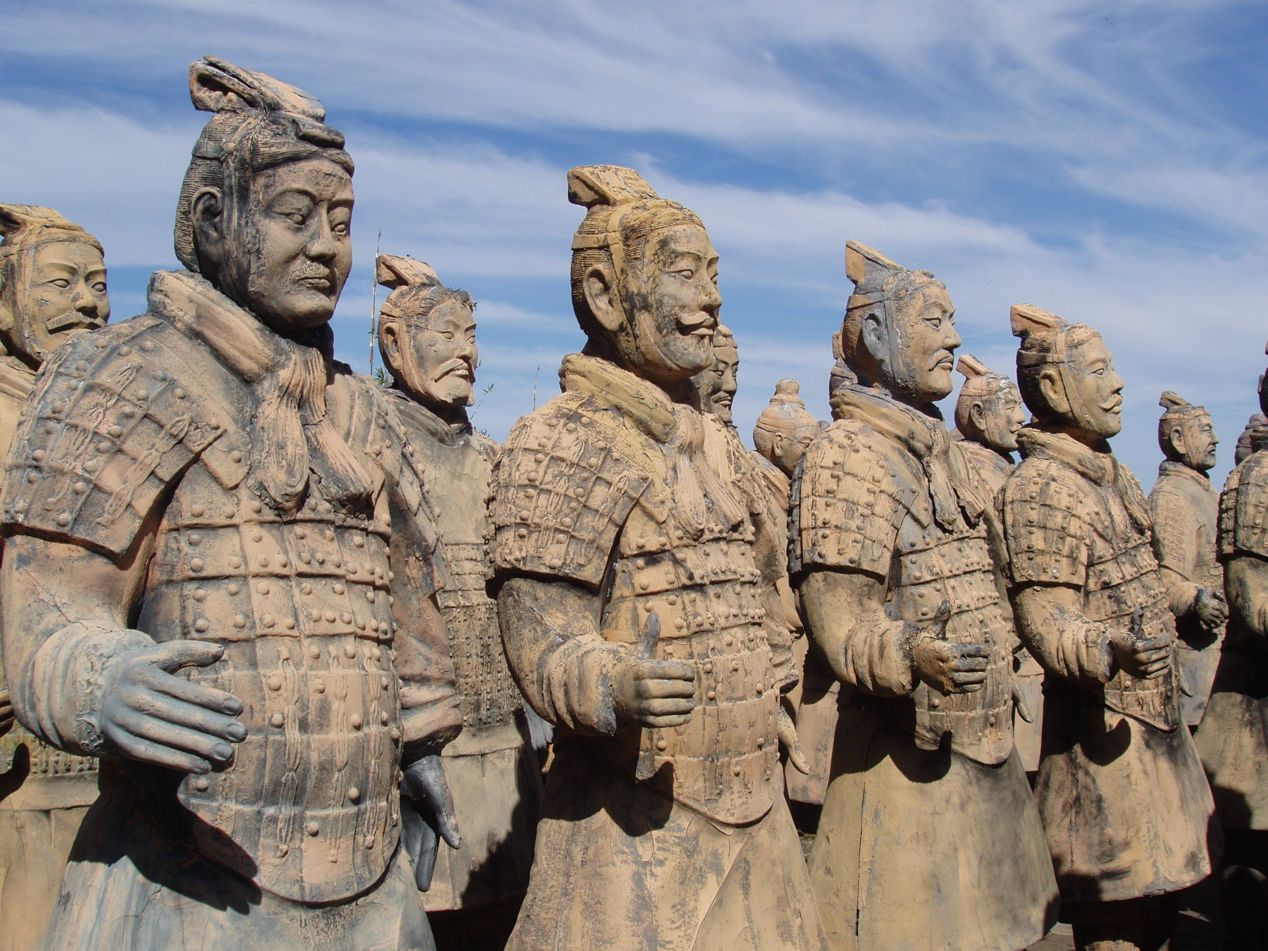 China Terra Cotta Army Warriors Google image from http://fwallpapers.com/files/images/terracotta-army-warriors-china-2.jpg