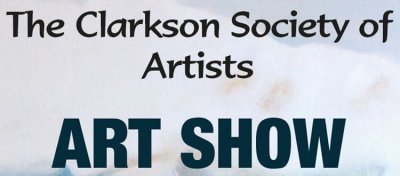 Clarkson Society of Artists' Art Show adapted from Google image http://www.mississaugaartscouncil.com/wp-content/uploads/2016/03/2016-CSA-Art-Show-Invitation-579x1280.jpg