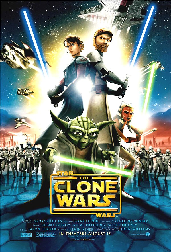 Star Wars: The Clone Wars Google image from http://www.scificool.com/images/2008/05/star-wars-clone-wars-poster.jpg
