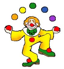 Juggling Clown Google image from http://addandsomuchmore.files.wordpress.com/2012/03/juggling_clown.gif?w=210&h=300