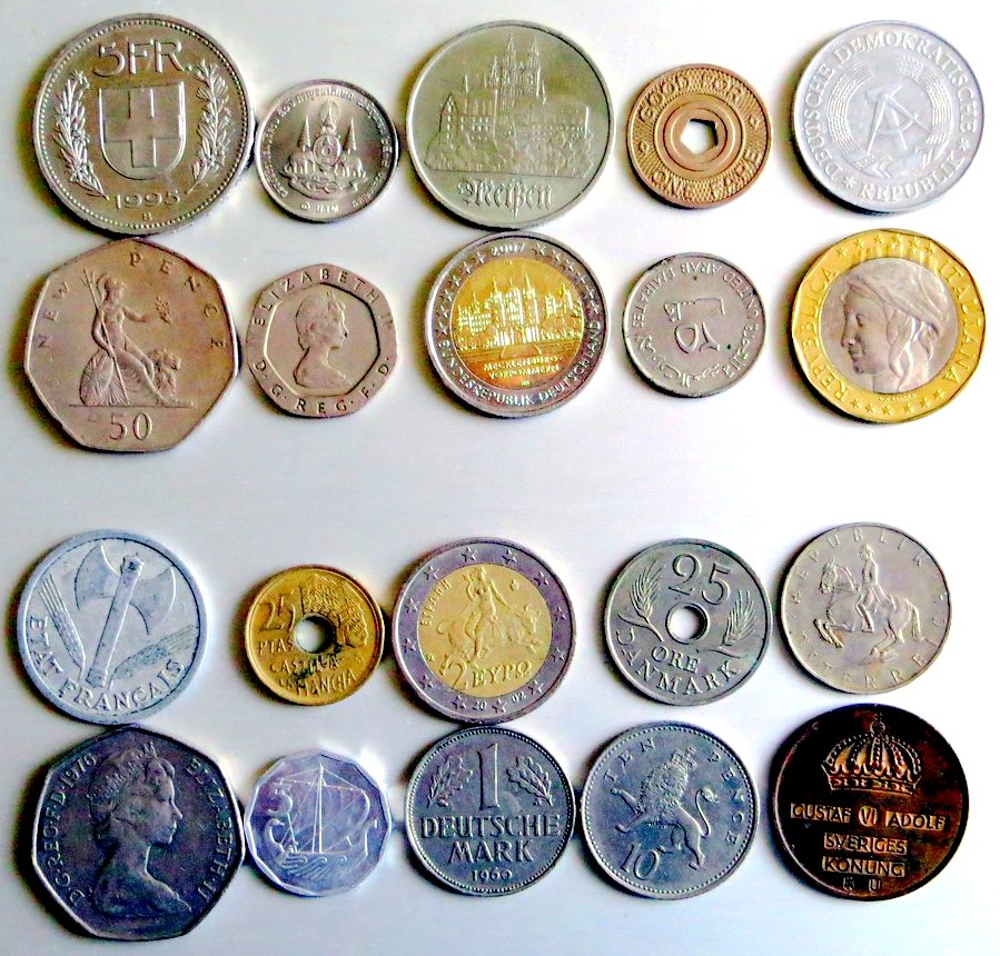 Coin Collection Google image from https://live.staticflickr.com/3827/9373769901_9e85ace409_b.jpg https://www.flickr.com/photos/frizztext/9373769901/
