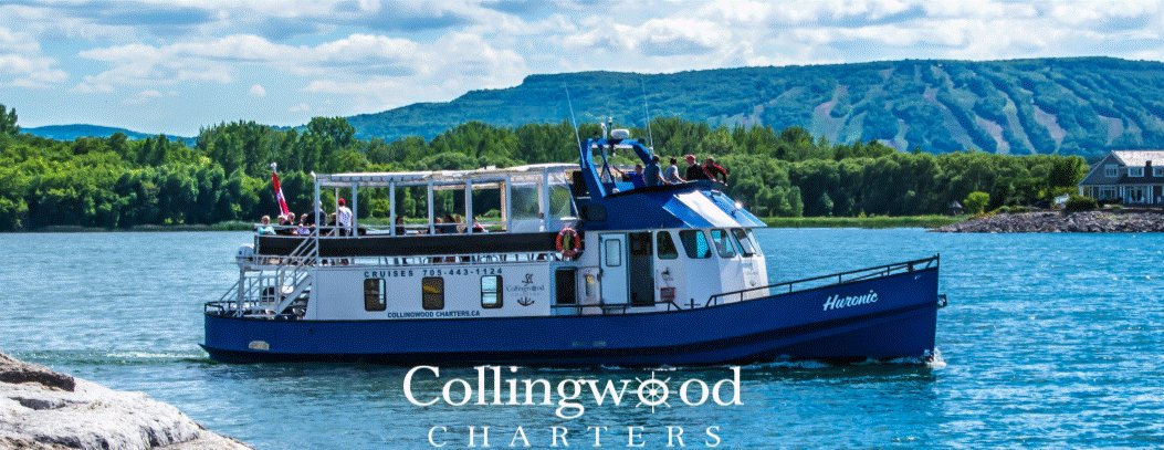 Collingwood Charters Google image from https://www.collingwoodcharters.ca/