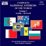 Complete National Anthems of the World - Volume 1: Arcadia - Burundi [Marco Polo] Slovak Radio Symphony Orchestra (Artist), Peter Breiner, Conductor)