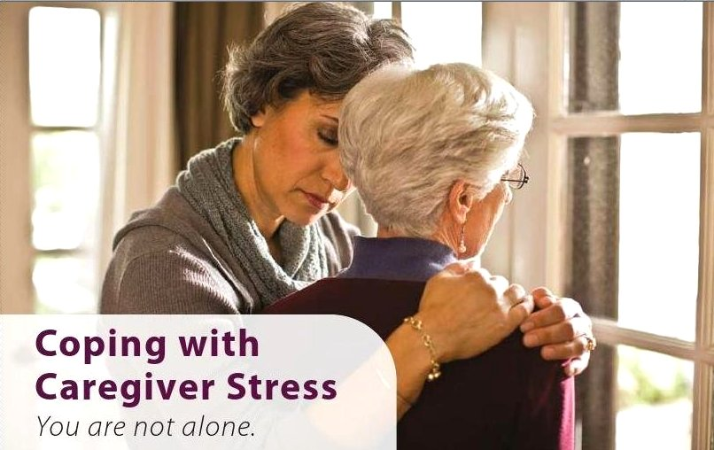 Coping with Caregiver Stress image from Port Credit Library flyer 1 May 2013