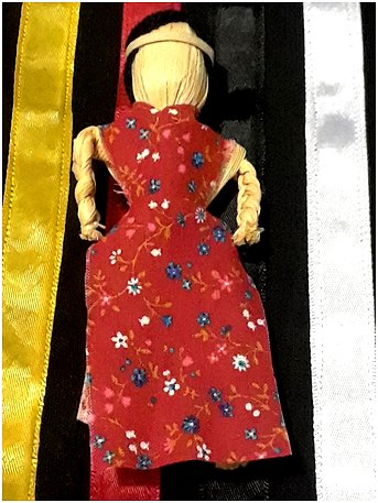 Cork Husk Doll for MMIW on Turtle Island image from PAN