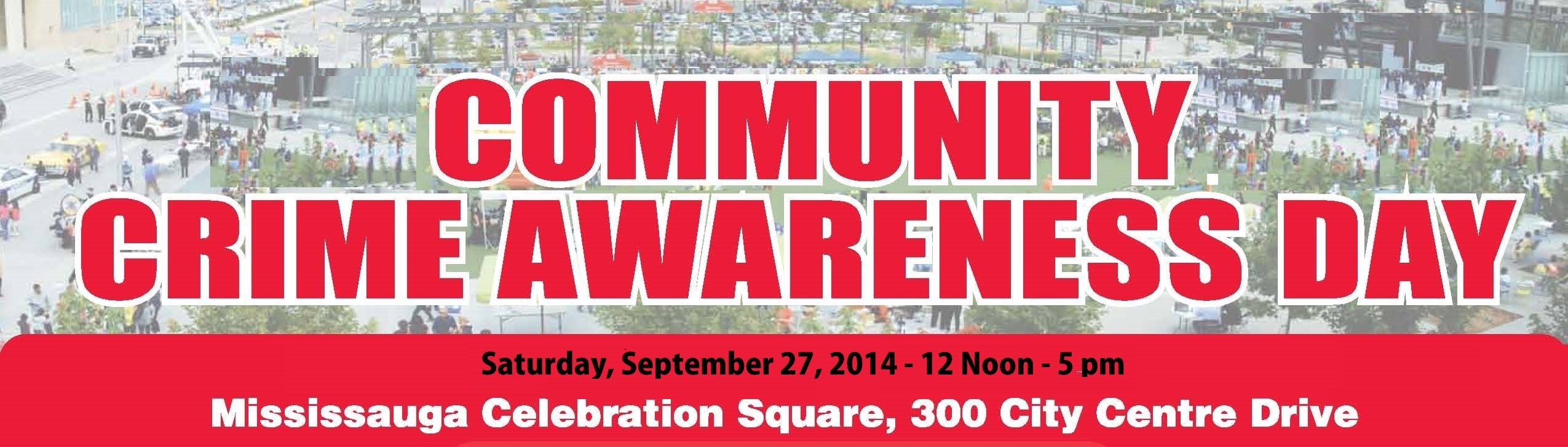 Community Crime Awareness Day adapted image from http://www.crimeawareness.ca/event.php