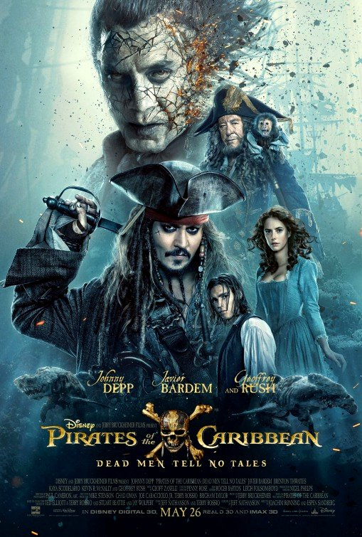 Pirates of the Caribbean: Dead Men Tell No Tales (2017) Movie Poster Google image from http://www.impawards.com/2017/pirates_of_the_caribbean_dead_men_tell_no_tales_ver3.html