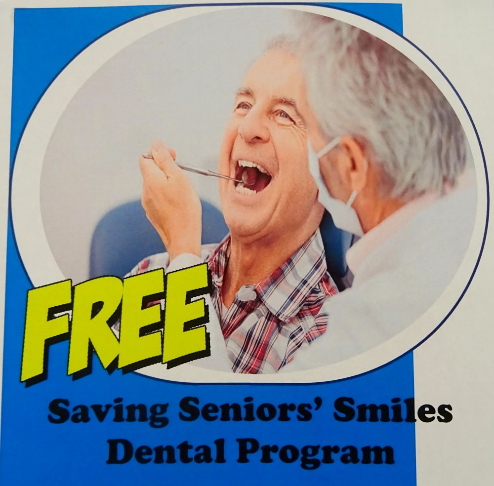 Saving Seniors' Smiles Dental Program image from Square One Older Adult Centre Bulletin Board