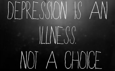 Depression Is an Illness. Not a Choice. Google image from http://sad-and-hungry.tumblr.com/post/115085316898