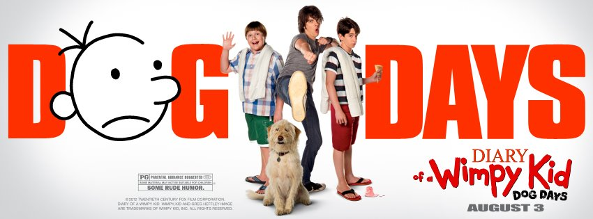 Diary of a Wimpy Kid 3: Dog Days (2012) Movie Poster Google image from http://i.movie.as/p/600/87094.jpg