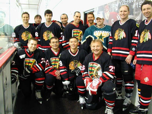 Docs on Ice 2005 Champion Team Photo Mississauga Tomahawks