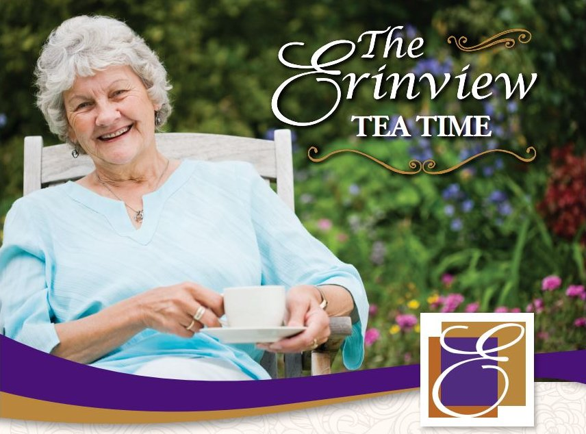 Erinview Tea Time image from Erinview flyer email 18 June 2014