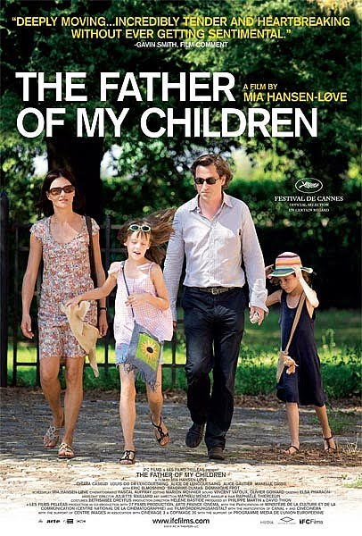 Father of My Children (France 2009) Movie Poster Google image from http://lipmag.com/wp-content/uploads/2010/08/The-Father-of-My-Children-Movie-Poster.jpg