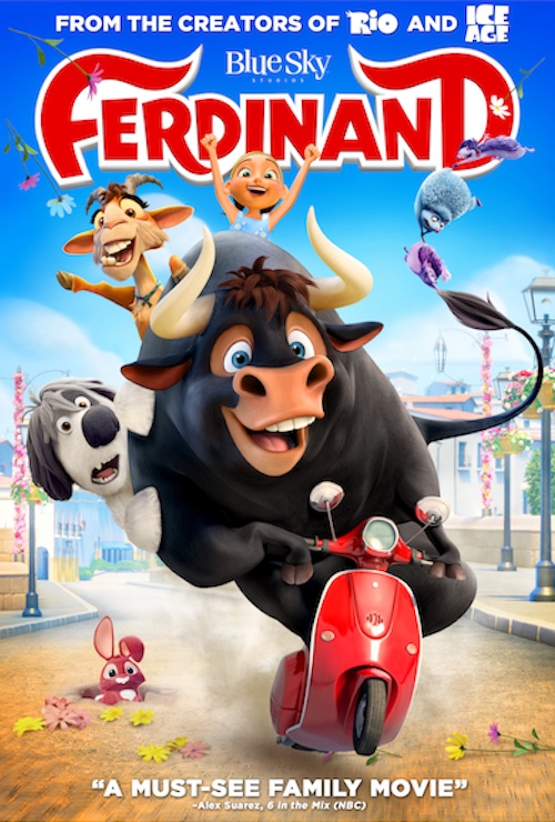 Ferdinand (2017) Movie Poster Google image from https://www.foxmovies.com/movies/ferdinand/posters/222407