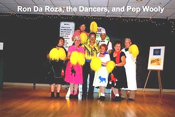 Flash Back to the 50's Ron Da Roza, the Dancers, and Pop Wooly