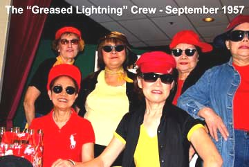 Flash Back to the 50's The Greased Lightning Crew - September 1957