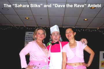 Flash Back to the 50's The Sahara Silks and Dave the Rave Artebi