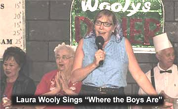 Flash Back to the 50's Laura Wooly Sings Where the Boys Are