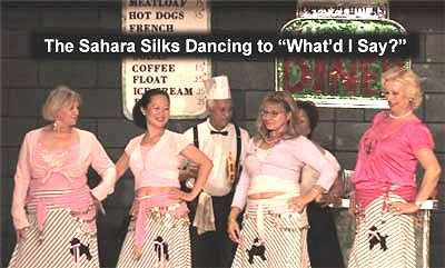 Flash Back to the 50's The Sahara Silks Dancing to What'd I Say?