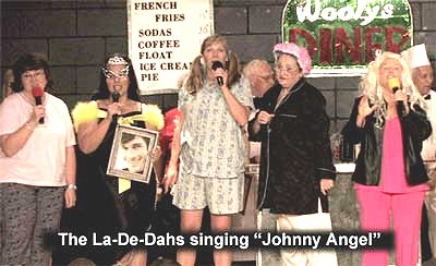Flash Back to the 50's The La-De-Dahs Singing Johnny Angel