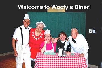 Flash Back to the 50's Welcome to Wooly's Diner