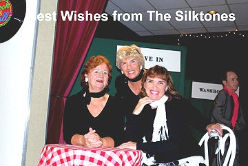 Flash Back to the 50's Best Wishes from the Silktones