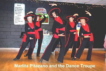 Flash Back to the 50's Marlita Pitazano and the Dance Troupe