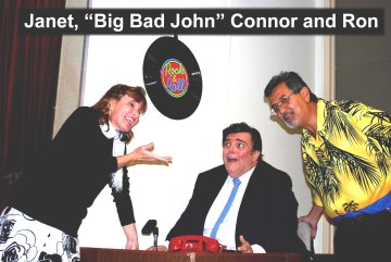 Flash Back to the 50's Janet, Big Bad John Connor and Ron