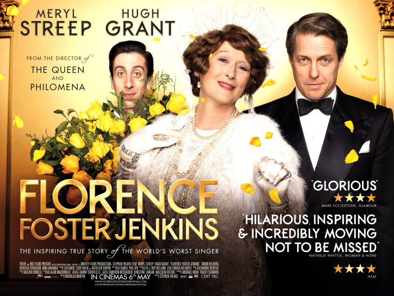 Florence Foster Jenkins (2016) Movie Poster from http://bobfishernv.com/florence-foster-jenkins-2016-movie-review/