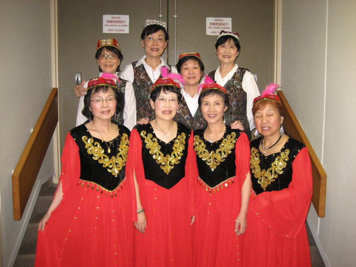 Ethnic Folk Dancers