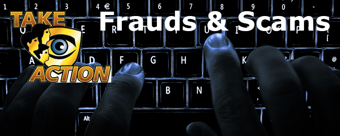 Frauds and Scams Crime Prevention Google image from https://winnipeg.ca/police/TakeAction/frauds_scams.stm