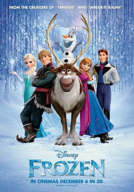 Frozen (2013) Movie Poster Google image from http://teaser-trailer.com/movie/disneys-frozen/
