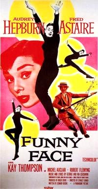 Funny Face (1957) Movie Poster Google image from http://images.moviepostershop.com/funny-face-movie-poster-1957-1010197130.jpg