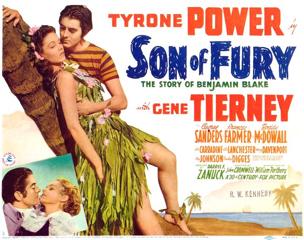 Son of Fury (1942) Movie Poster from http://www.doctormacro.com/Images/Posters/S/Poster%20-%20Son%20of%20Fury_02.jpg